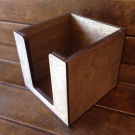Накопитель для бумажных салфеток для кафе