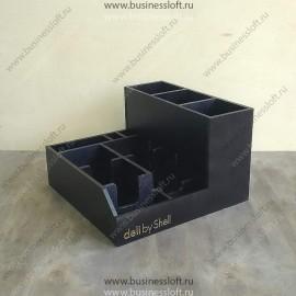 Накопитель для кофейных стаканов, крышек и салфеток
