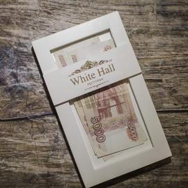 Коробка для счета с премиальной отделкой для ресторана