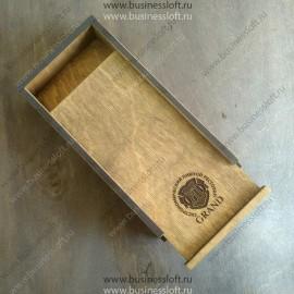 Деревянная счетница - пенал для расчета в ресторане
