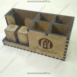 Подставка для салфеток и спецовников (комплект)