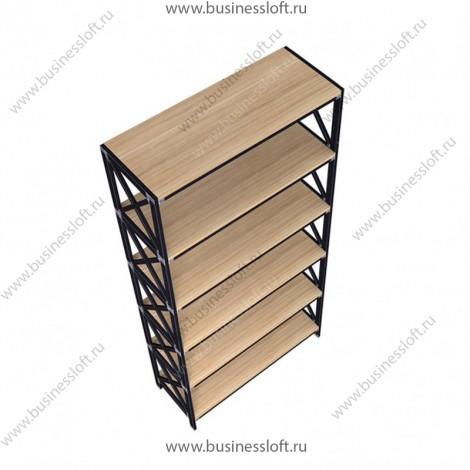 Стеллаж напольный высокий в стиле Loft
