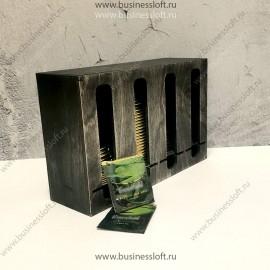 Накопитель для чайных пакетиков в стиках на 4 вида