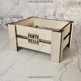 Деревянная коробка для салфеток и менажей