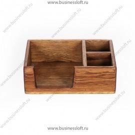 Коробка из дуба для салфеток, специй на стол в ресторан