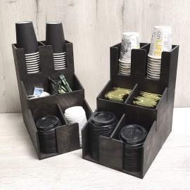 Органайзер для кофейных стаканчиков горка на 6 отделений