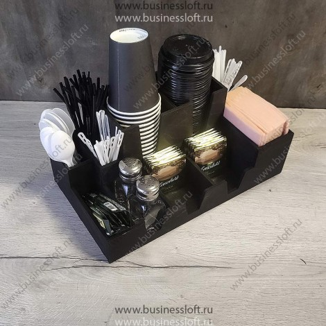 Органайзер для стаканчиков, салфеток и пакетиков чая